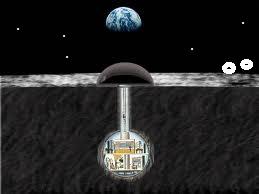 undergound moonbase