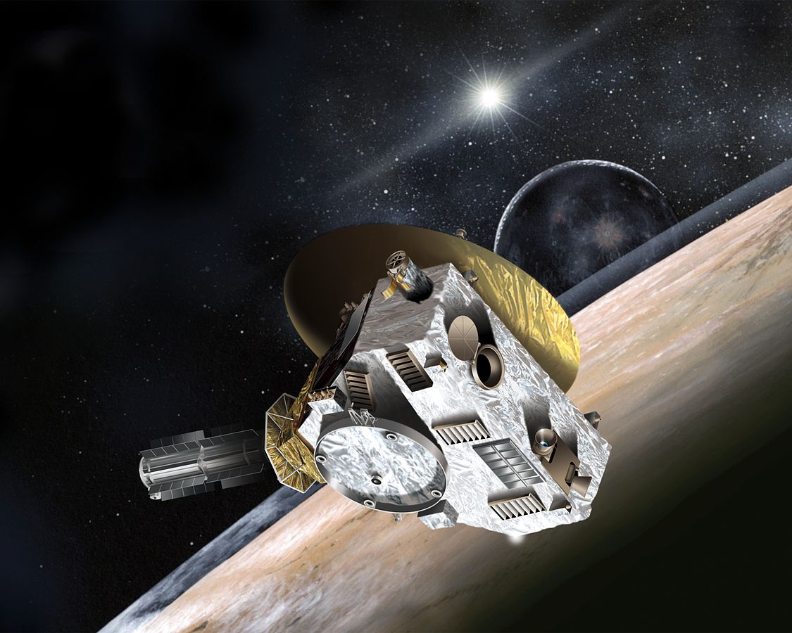 New Horizons The Science Geek Further Voyager 2 Spacecraft Diagram On Space Probe