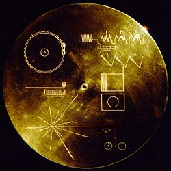 Voyager Record Cover