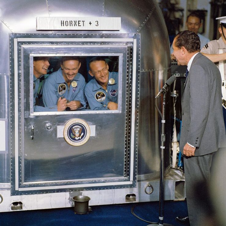 Apollo 11 in quarantine