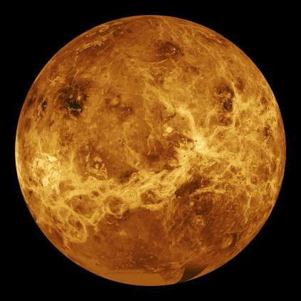 Venus-imaged-by-Magellan