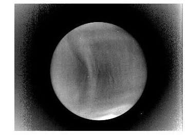 Venus in IR light