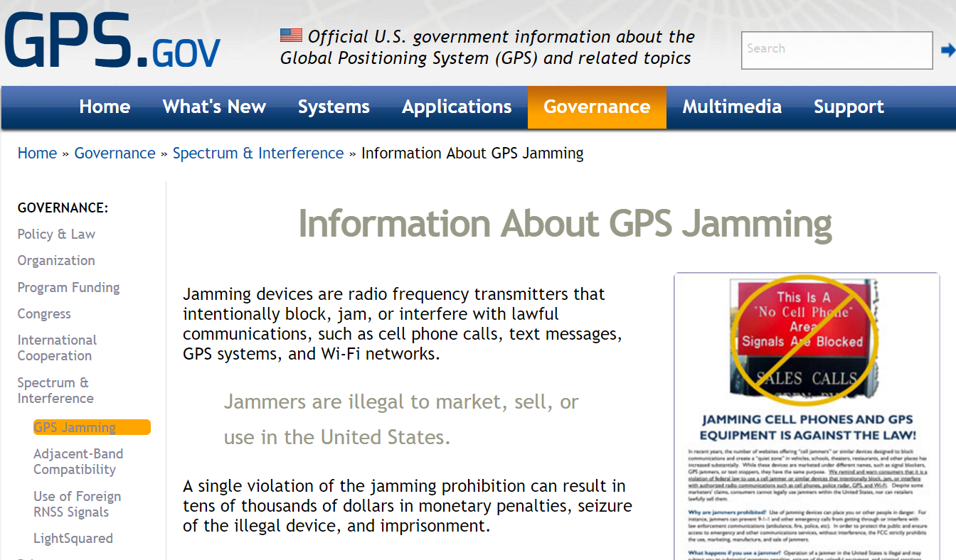 How a gps jammer works sanitation - gps jammer illegal workers